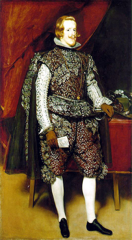 Diego Velasquez, Philip IV., etwa 1631-32, Öl /Lwd., 199,5 x 113 cm, National Gallery, London (