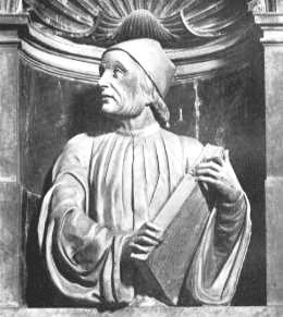 Marsilio Ficino, Portraitbüste im Dom von Florenz