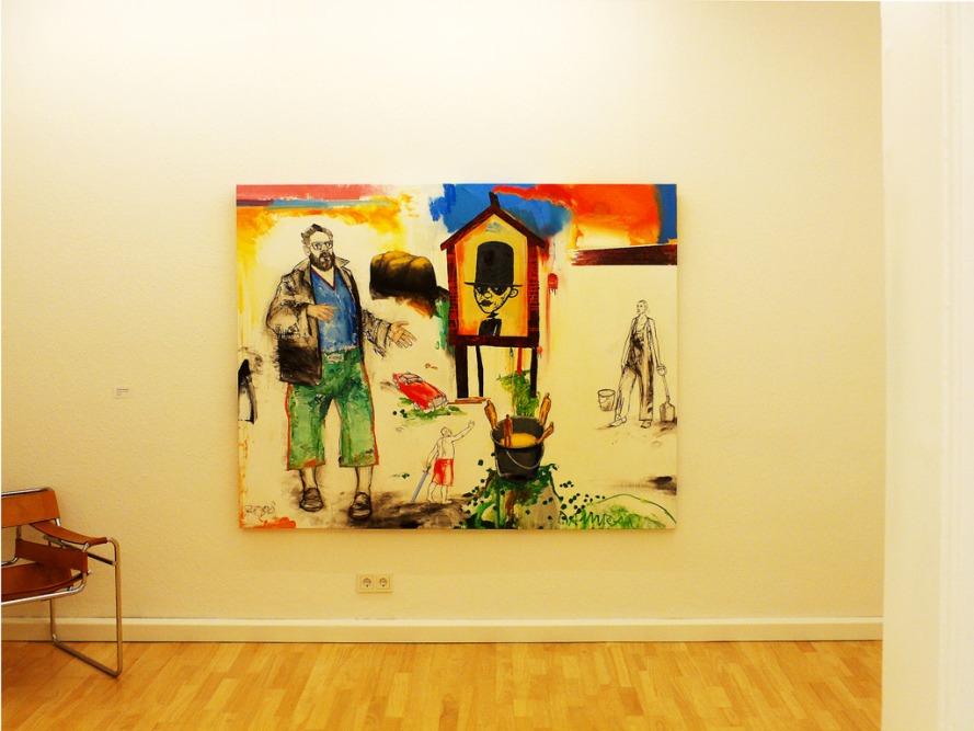 Galerie Anja Rumig, Ausstellungsansicht