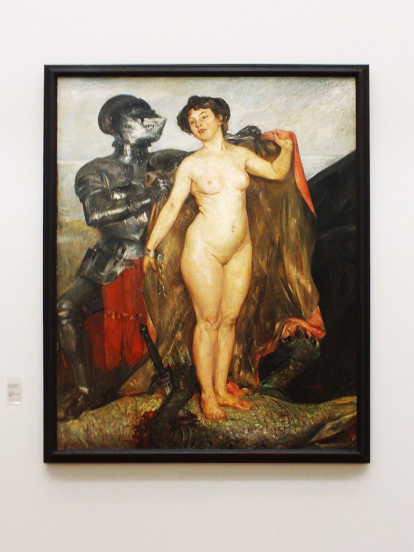 Lovis Corinth, Perseus und Andromeda, 1900, Museum Georg Schäfer, Schweinfurt