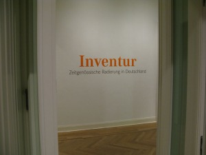 Inventur; Foto: Clemens Ottnad