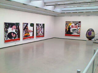 Ausstellungsansicht, Kunsthalle Tübingen