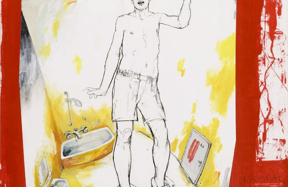 Tillmann Damrau; AWAKENING, 2007, 130 x 150 cm