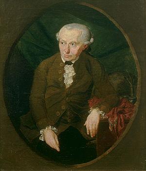 Porträt Immanuel Kant